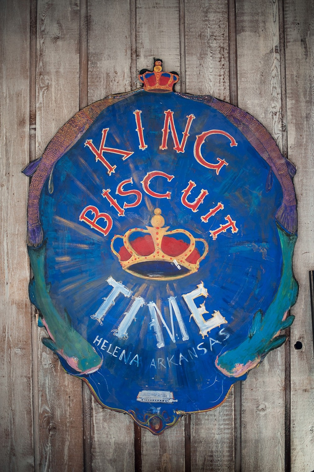 King Biscuit Time - Sign | Sunrise Memphis